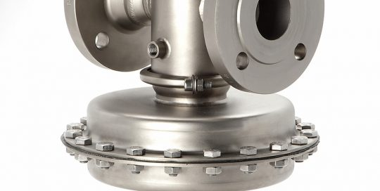 Millibar Control Valve for High Flow Rates